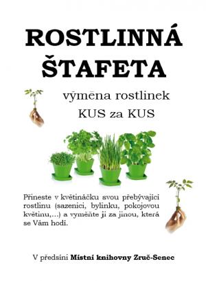Rostlinná štafeta v knihovně 1
